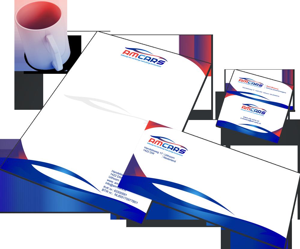 Huisstijl voor Amcars Logo4All
