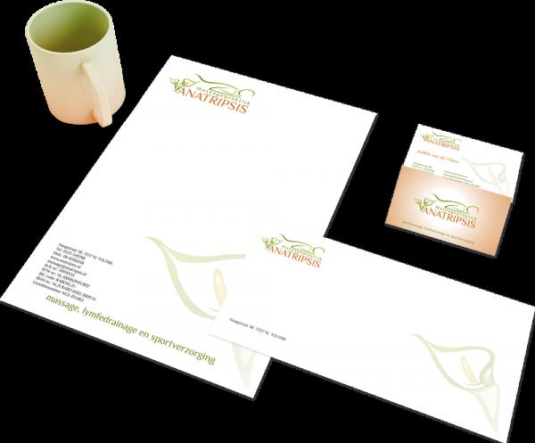 Huisstijl voor Anatripsis Logo4All
