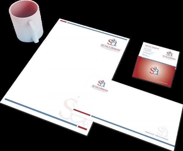 Huisstijl voor SSA Logo4All